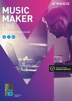 MAGIX Music Maker Live 2017   SOFTWARELOAD