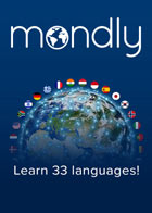 Mondly Premium 1 Language - 6 Months Subscription