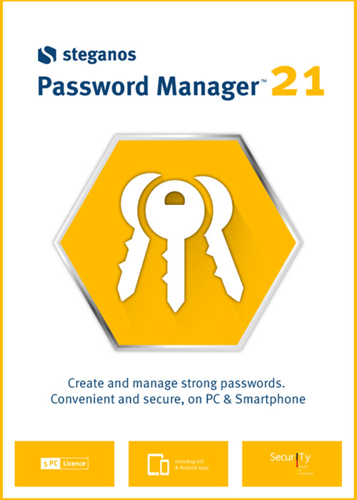 Steganos Password Manager 21