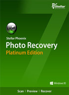 Stellar Phoenix Photo Recovery Platinum version 7 (Windows)