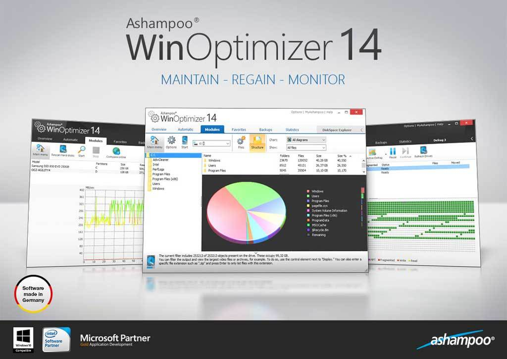 Ashampoo WinOptimizer screenshot 2