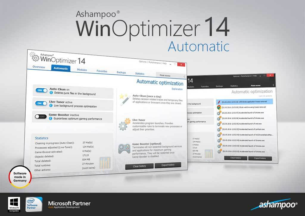 Ashampoo WinOptimizer screenshot 3