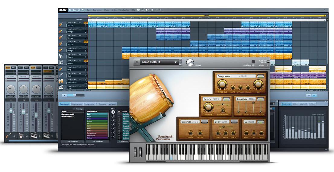 MAGIX Music Maker Moviescore Edition 6 | SOFTWARELOAD